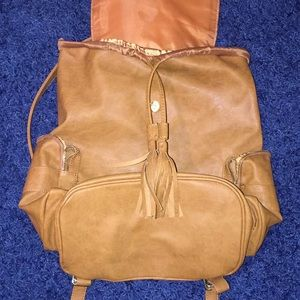 Mossimo Supply Co. Bags - Brown Leather Backpack